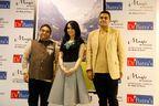 L-R - Dr Mukesh Batra, Emirati singer Aryam and Dr Akshay Batra