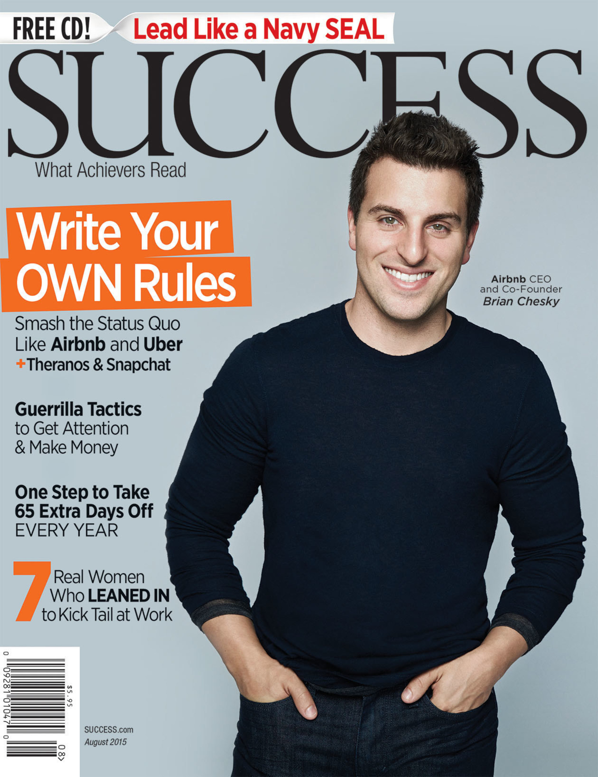 Do you Uber? In SUCCESS Magazine, Read How Uber, Airbnb and Theranos Are Disrupting Your Life