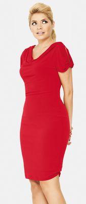 Holly Willoughby Petal Sleeve Jersey Dress, €50 (PRNewsFoto/Littlewoods Ireland)
