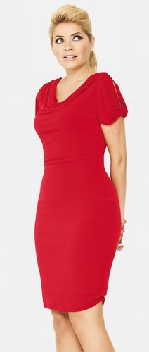 Holly Willoughby Petal Sleeve Jersey Dress, €50