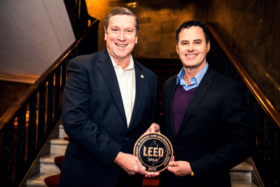 Rick Fedrizzi, CEO of U.S. Green Building Council and Raul Leal, CEO of Virgin Hotels