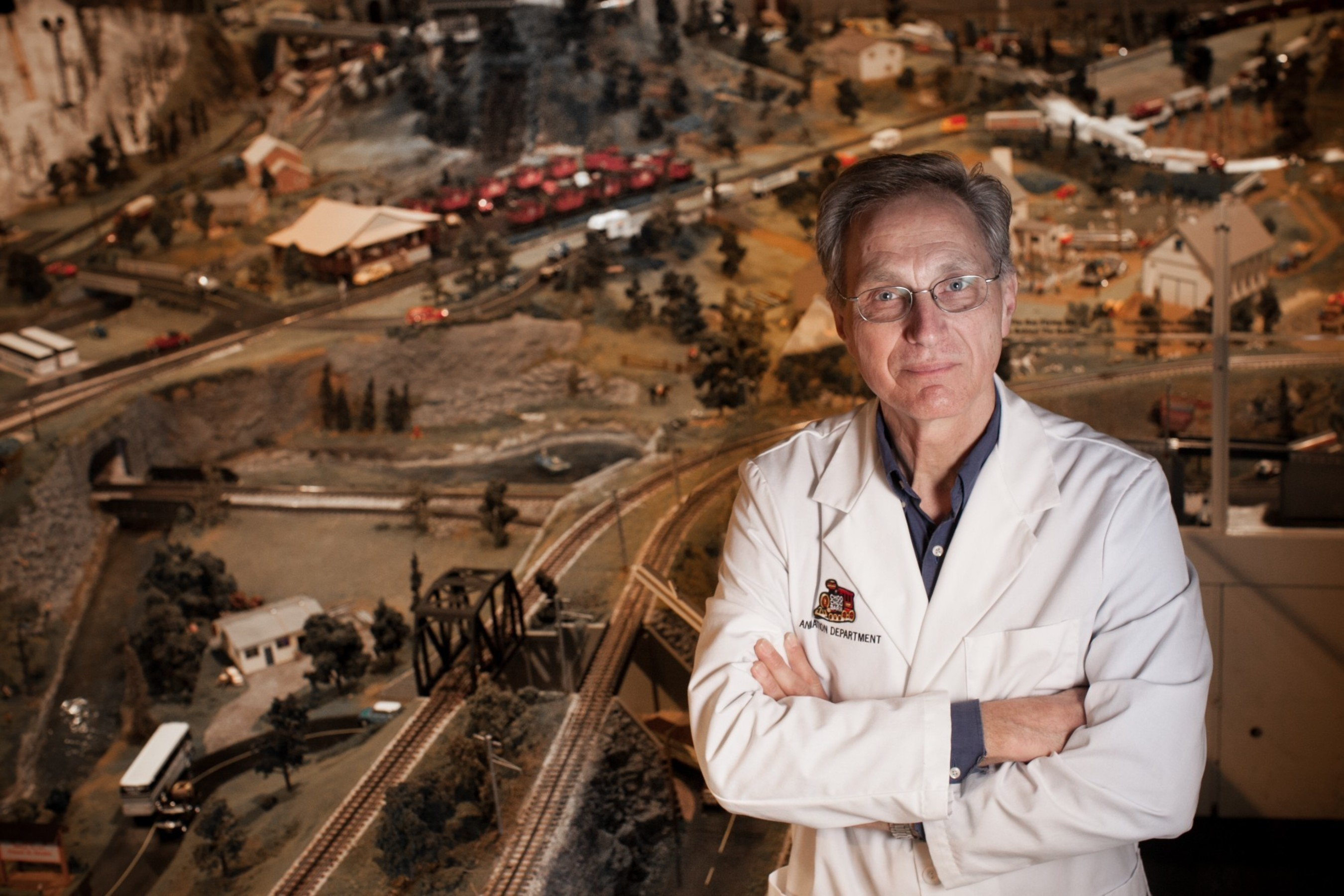 The Mayor of Traintown, U.S.A., Tom Groff (PRNewsFoto/Choo Choo Barn)