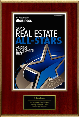 "Evduza Ramaj Selected For ""2012 Real Estate All-Stars.""  (PRNewsFoto/American Registry)"
