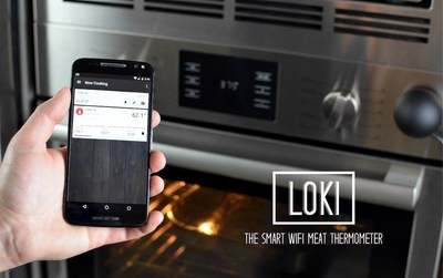 Loki - The Smart WiFi Meat Thermometer