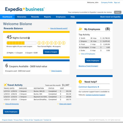 Expedia Launches Expedia+ business Loyalty Program to Help Small Businesses Save Money and Bring Order to Often-Messy Travel Process