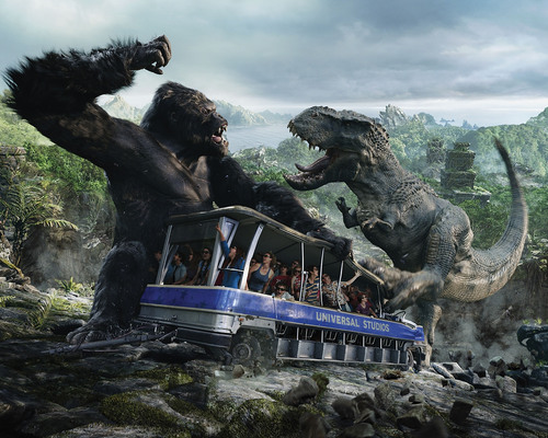 'King Kong 360 3-D' Created by Peter Jackson, the World's Largest Most Intense 3-D Experience,