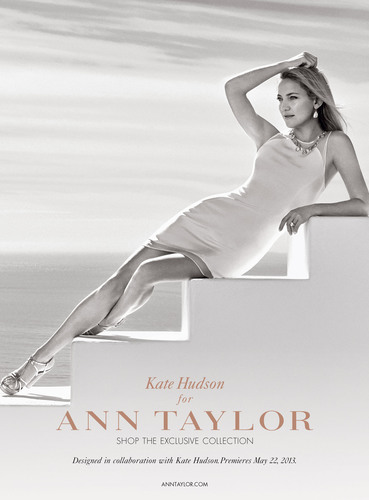 Kate Hudson in Premiere Dress from Kate Hudson for Ann Taylor limited-edition.  (PRNewsFoto/Ann Taylor)