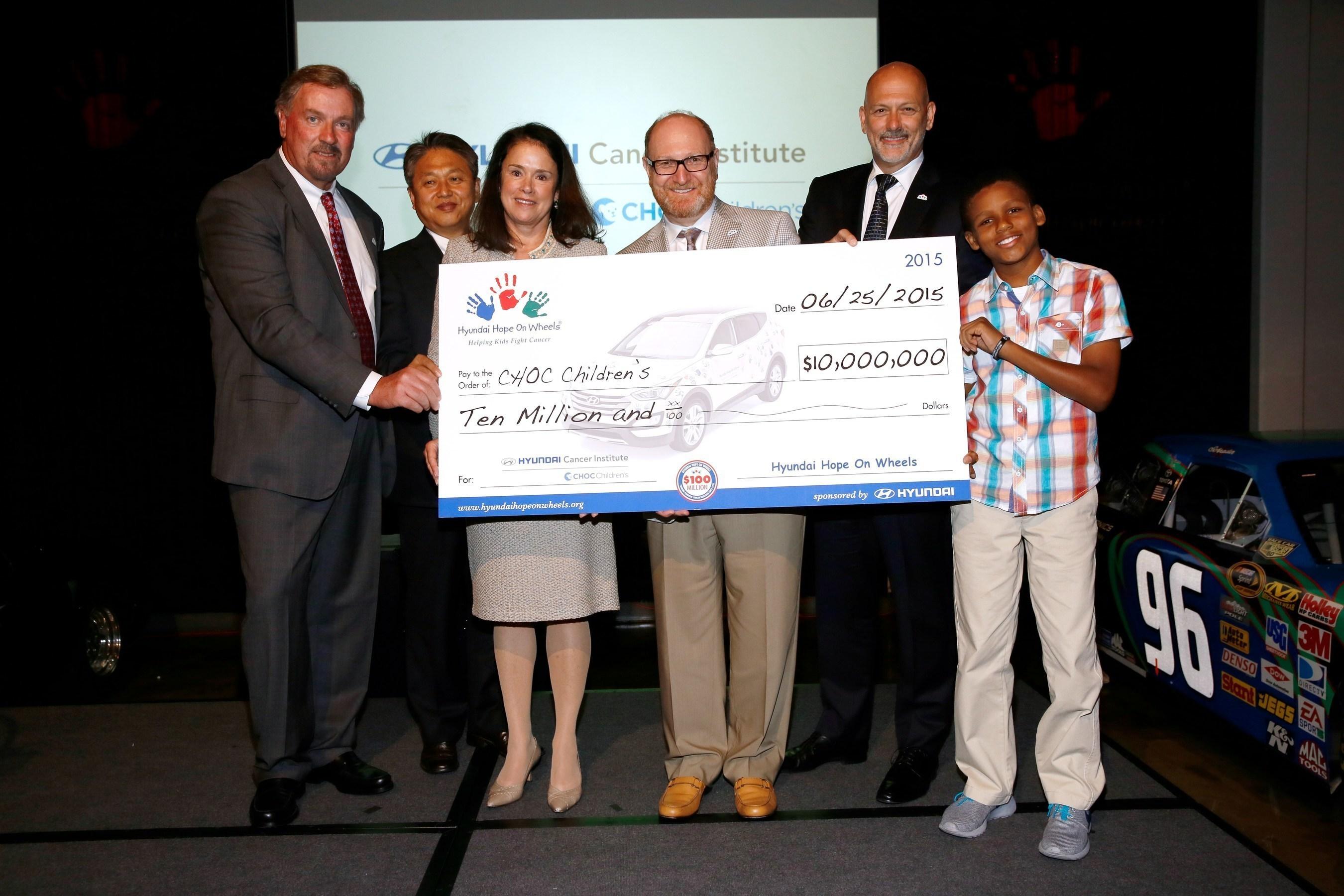 Hyundai Motor America And CHOC Children's Celebrate The