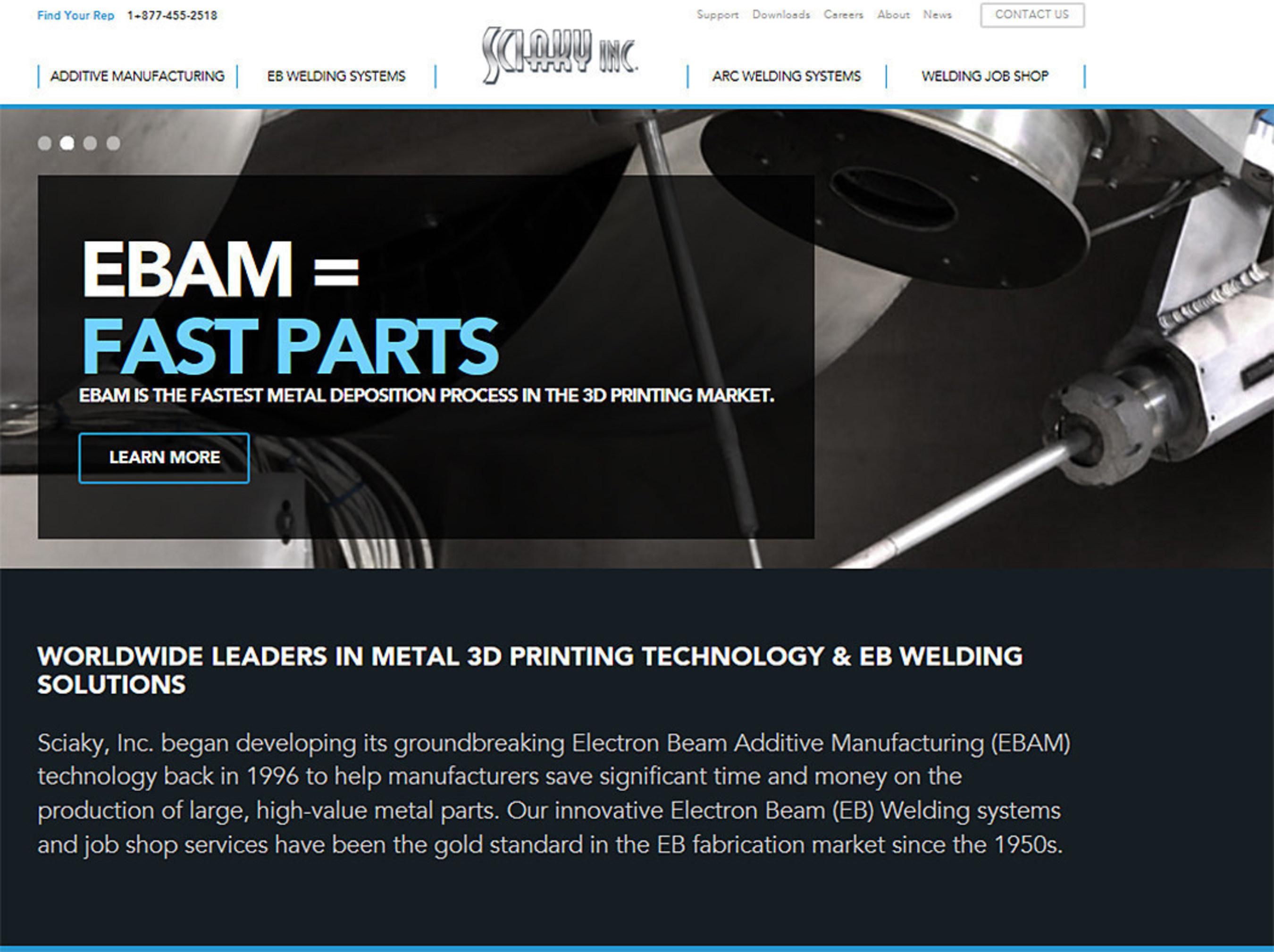 Sciaky, Inc  Launches New Website and Unveils Expanded Lineup of New