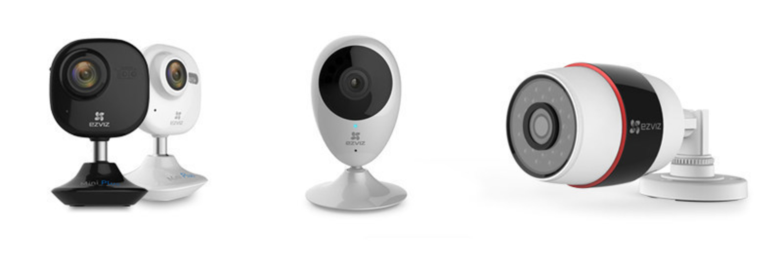 EZVIZ Brings Three New Products to the Smart Home Experience
