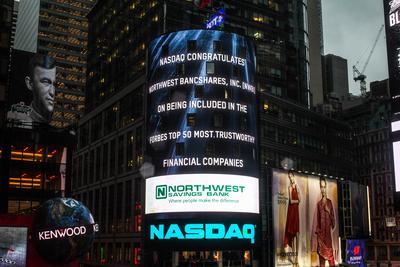 (C)  2014, The NASDAQ OMX Group, Inc. Reprinted with permission. (PRNewsFoto/Northwest Bancshares, Inc.)