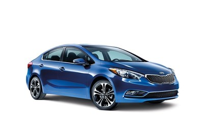 The 2015 Kia Forte is versatile, stylish and offers great value for consumers in the Joliet, IL area. (PRNewsFoto/Bill Jacobs Auto Group)