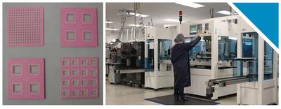 NATEL EMS' new High Temperature Co-Fired Ceramics (PRNewsFoto/NATEL)