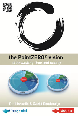 Sogeti launches its first book in the PointZERO(r) series, The PointZERO(r) Vision, which describes Capgemini and Sogeti's joint vision for the development and maintenance of business applications. The book details how in the future, testing will shift from a separate activity towards being an integrated part of the application lifecycle. This will cause functional and large parts of non-functional testing like security and connectivity which traditionally occurs at the end of the software development to be reassessed and integrated earlier in the process.  (PRNewsFoto/Sogeti)