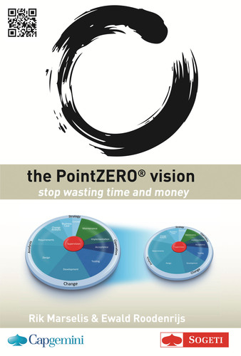 Sogeti launches its first book in the PointZERO(r) series, The PointZERO(r) Vision, which describes Capgemini and Sogeti's joint vision for the development and maintenance of business applications. The book details how in the future, testing will shift from a separate activity towards being an integrated part of the application lifecycle. This will cause functional and large parts of non-functional testing like security and connectivity which traditionally occurs at the end of the software development to be reassessed and integrated ...