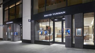 David Yurman Boutique Exterior Shot at CityCenterDC in Washington, D.C. (Courtesy of Jeffrey Totaro)