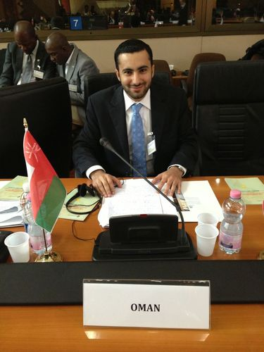 """Faisal Al-Rashdi takes part in Bar Council programme."" (PRNewsFoto/Oman News)"