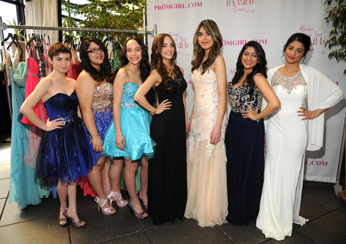 Alexa Ray Joel and guests Partner With PromGirl to Launch #PromGirlUp Selfie Campaign at Gramercy Park Hotel on April 16, 2014 in New York City.  (Photo by Kevin Mazur/WireImage) (PRNewsFoto/PromGirl.com)