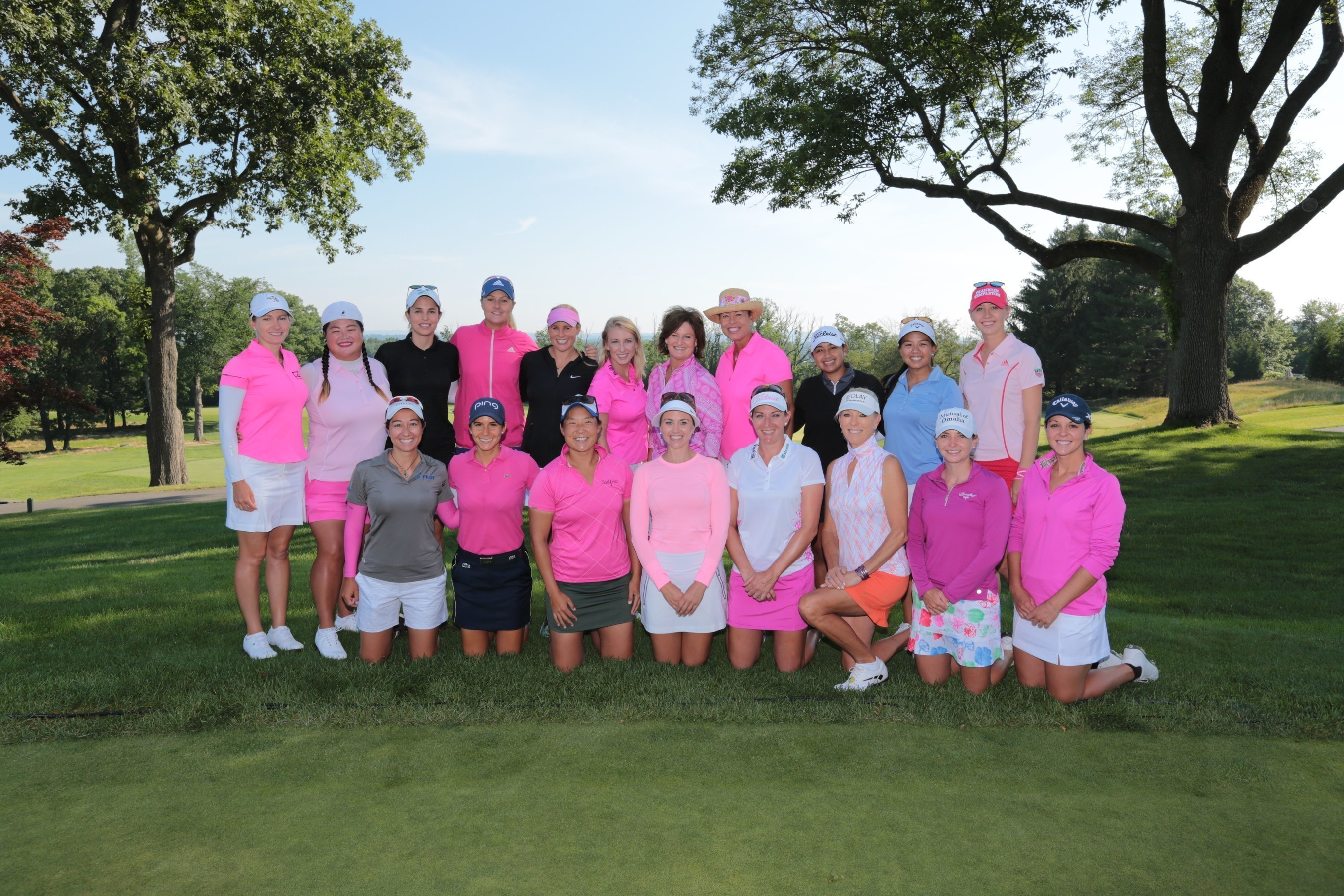 Leading LPGA players gathered to help the Val Skinner Foundation raise $500,000 for breast cancer initiatives. Photo by IPI Event Photography.
