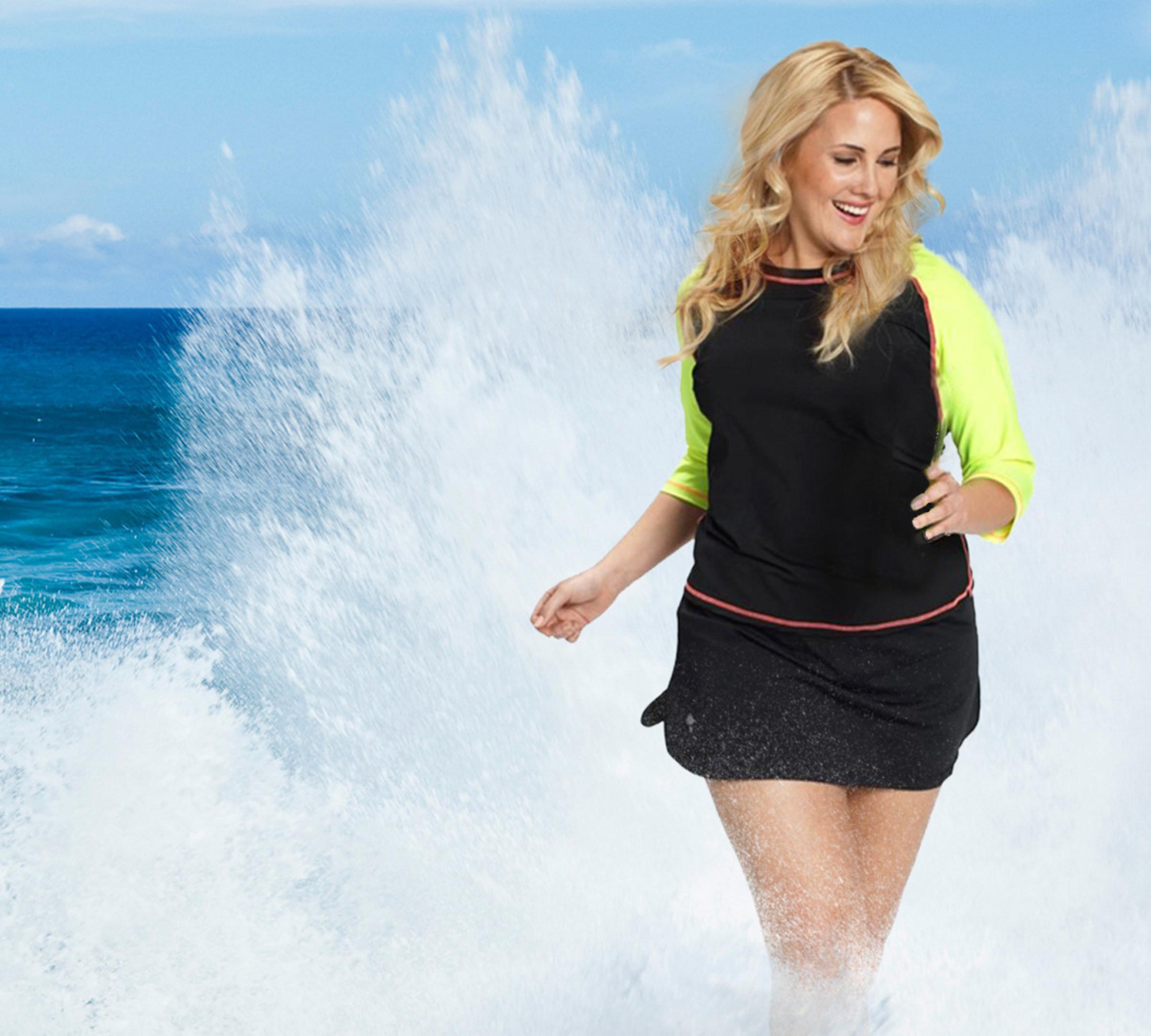 77b075a16bd HydroChic (www.hydroChic.com) offers customizable mix and match swimwear  and active