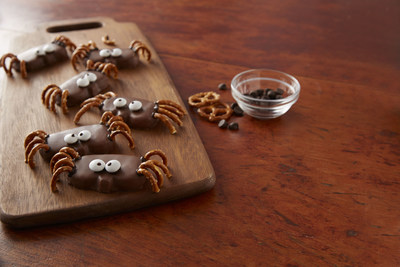 Thrill party guests with spooktacularly delicious Reese's Peanut Butter Pumpkin Spiders