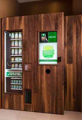 "Marriott Hotels Serves Up a ""Fresh"" Approach - Healthy Vending Machine Debuts, a Traveler-Inspired Innovation Submitted to TravelBrilliantly.com. (PRNewsFoto/Marriott International, Inc.)"