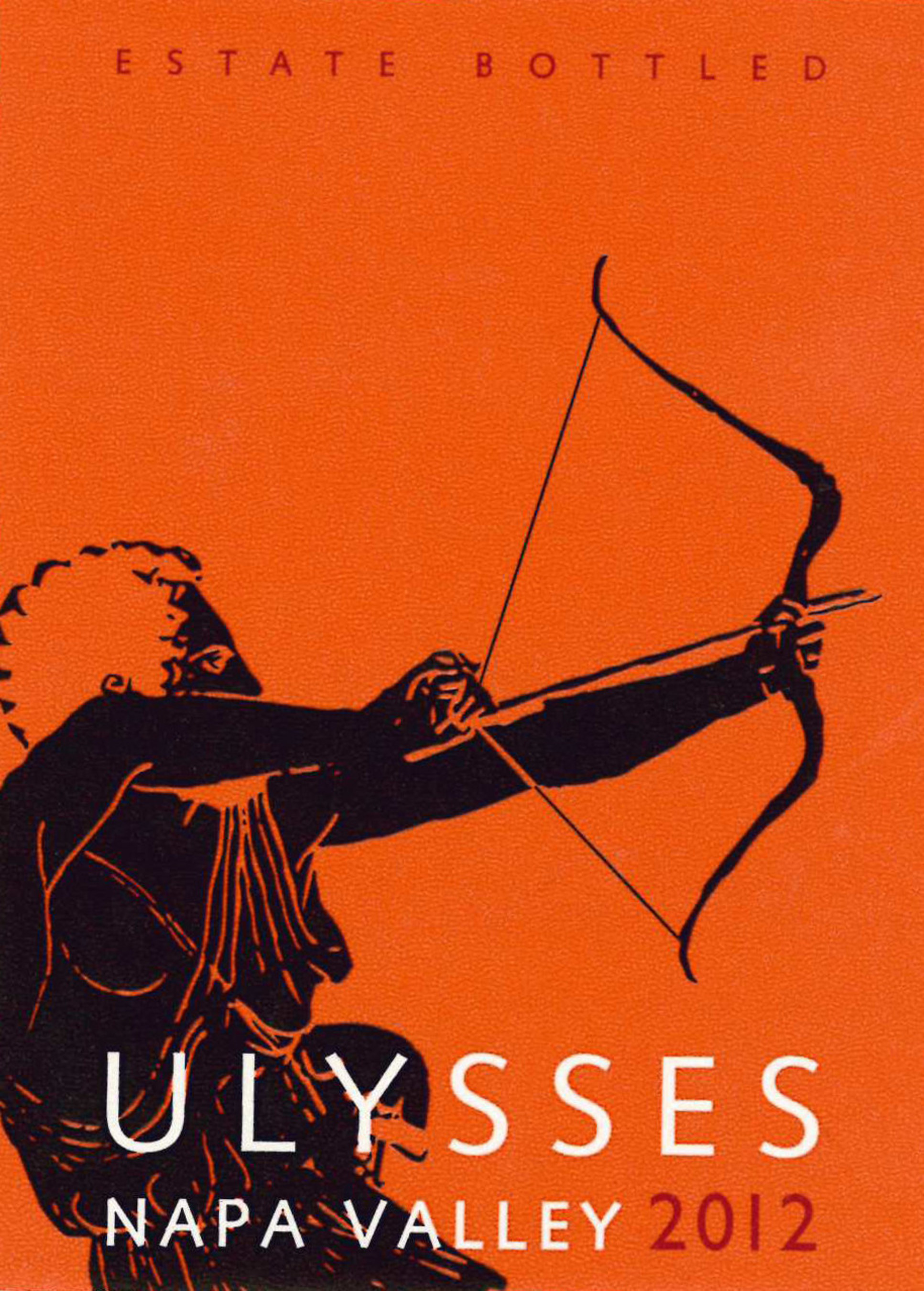 Ulysses 2012 Wine Label
