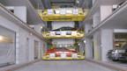 Unitronics Systems Inc. debuts 373-space high-tech automated parking garage at 1415 Park Avenue, Hoboken, N.J.
