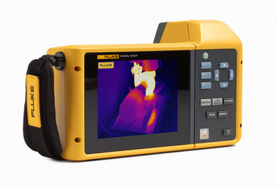 The new TiX580 Infrared Camera features a 240-degree rotating screen that allows thermographers to easily navigate over, under, and around objects to preview and capture images with ease.