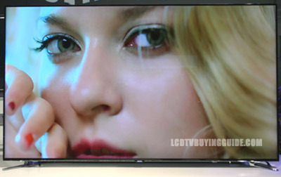 The Samsung UN55F7500 LED TV.  (PRNewsFoto/CEAG Inc.)
