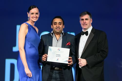 Joggy Dhillon scooping the national PR award