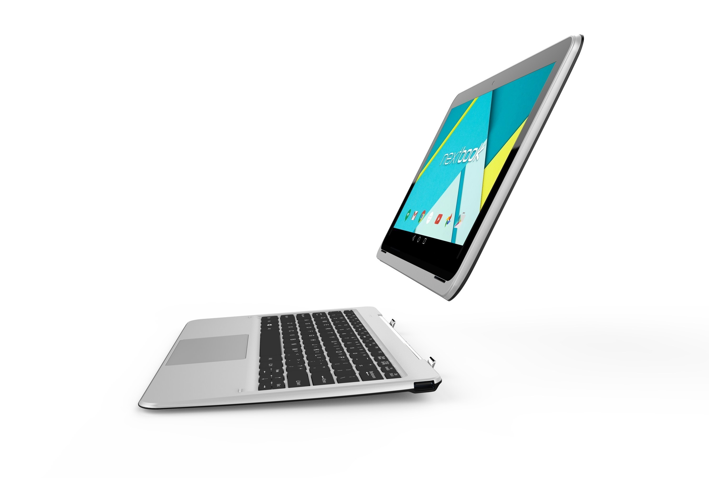 The Nextbook Ares 11A 2-in-1 Android tablet will debut at CES 2016