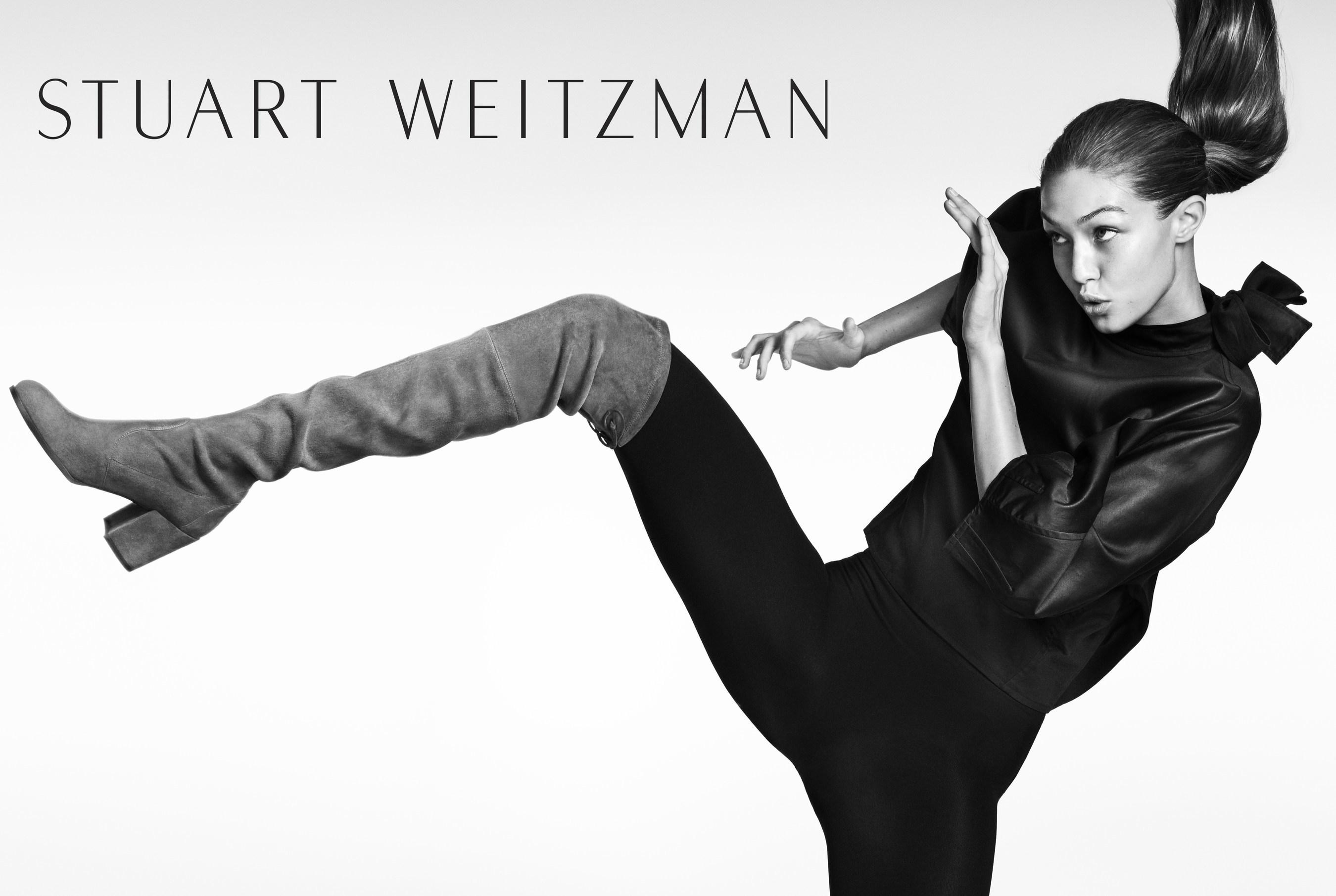 Stuart Weitzman Kick Starts Fall 2016 with a Campaign Starring Gigi Hadid