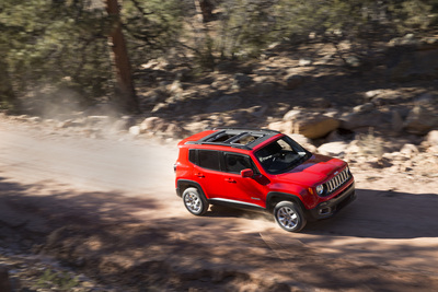 All-new 2015 Jeep Renegade (PRNewsFoto/Chrysler Group LLC)