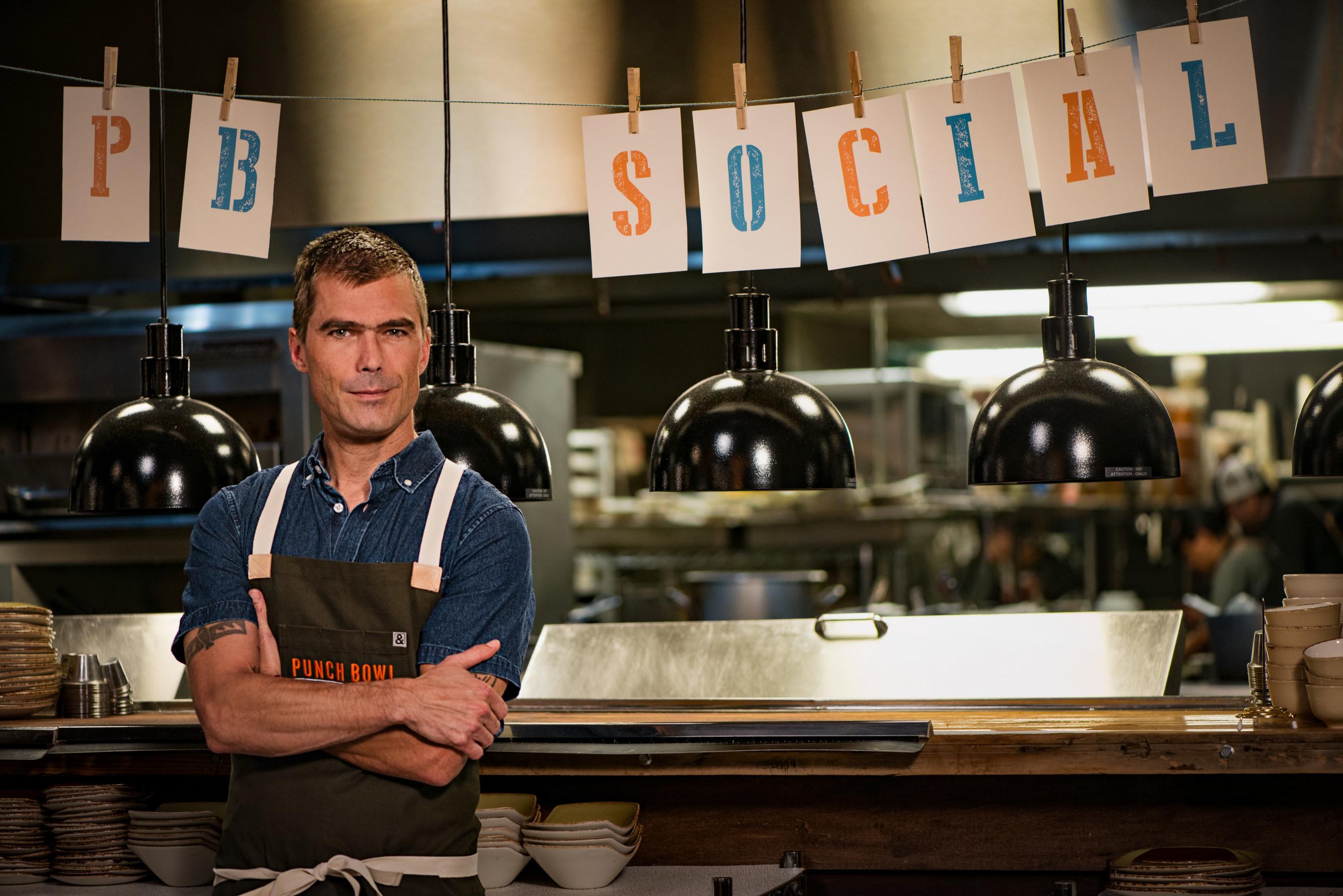 Hugh Acheson, Culinary Partner, Punch Bowl Social.