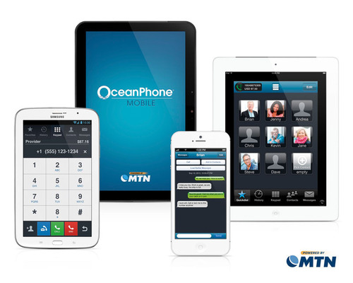 OceanPhone Mobile from MTN is the maritime industry's first calling app for crew.  (PRNewsFoto/MTN ...