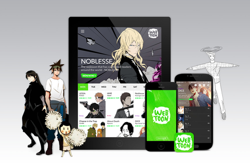 LINE Webtoon a new way to enjoy mobile comics (PRNewsFoto/LINE Webtoon)