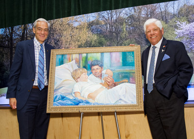 Rick Shadyac Jr., President and CEO of ALSAC, the fundraising and awareness organization for St. Jude Children's Research Hospital, presented PGA of America Hall of Famer Lee Trevino with the first-ever St. Jude Children's Research Hospital Lee Trevino Award, named in recognition of the golfer.