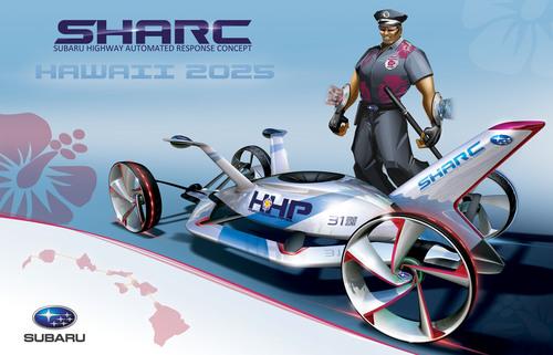 Les studios de design automobile imaginent le véhicule de police de demain