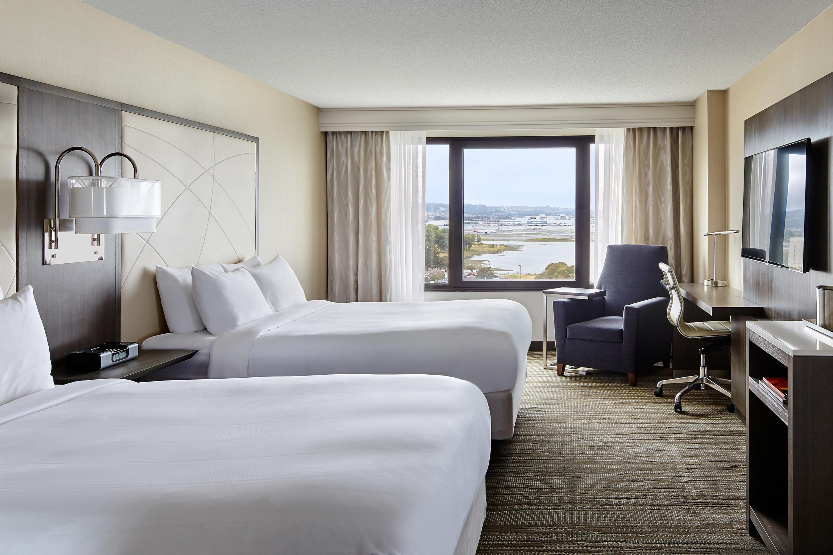 San Francisco Airport Marriott Waterfront Unveils 18