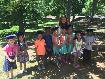 North Carolina Virtual Academy honored its first kindergarten class on May 24th