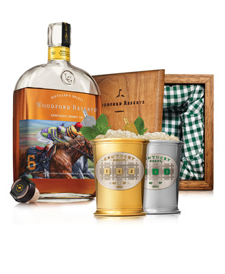Woodford Reserve unveils its $1,000 Mint Julep Cup available at the Kentucky Derby and benefiting the Permanently Disabled Jockeys Fund. Now in its 11th year, the 2016 iteration offers an elevated Derby experience curated by Master Distiller Chris Morris, in partnership with acclaimed menswear designer Hamilton Shirts and New York mixologist Julie Renee Williams.