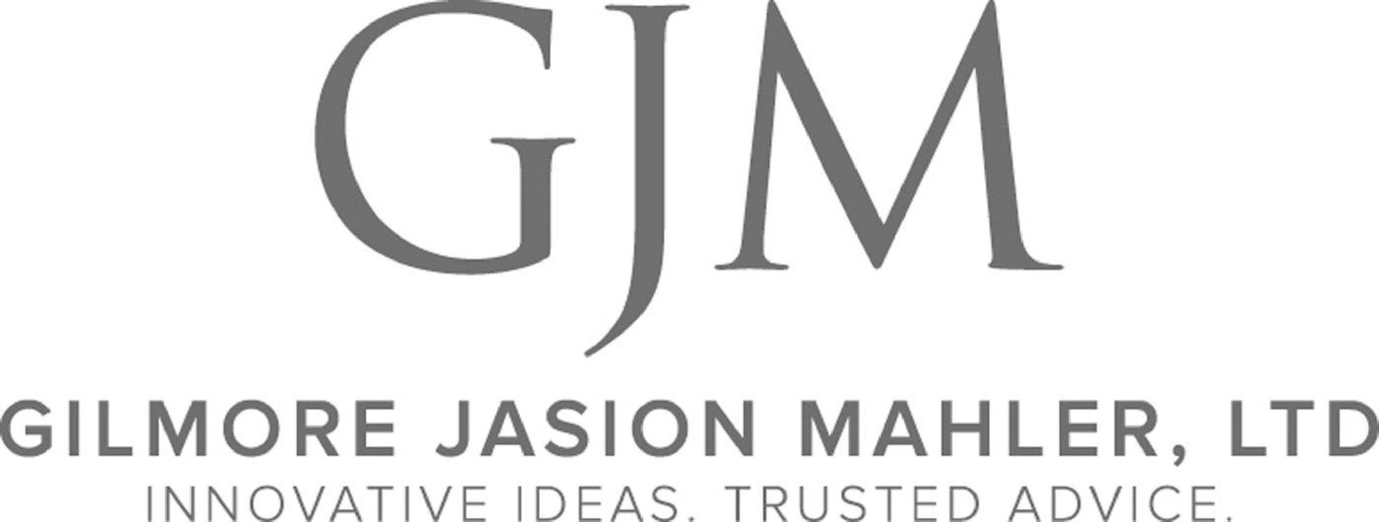 Gilmore Jasion Mahler, LTD....Innovative Ideas, Trusted Advice. (PRNewsFoto/Gilmore, Jasion and Mahler, LTD) (PRNewsFoto/GILMORE, JASION AND MAHLER, LTD)