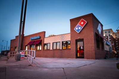 Domino's in Oklahoma City is the company's 12,000th store in the world to open.