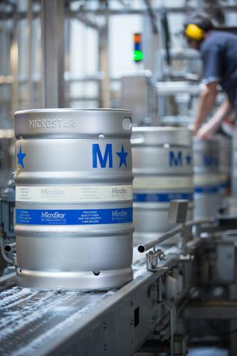 MicroStar Kegs in Brewery (PRNewsFoto/MicroStar Logistics)