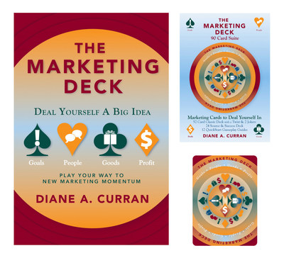 The Marketing Deck Suite Book and Cards