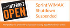 Sprint Shutdown Suspended: Nonprofits Win Preliminary Injunction, Protect Internet For 300,000 Americans