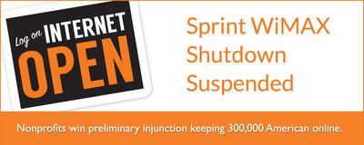 Nonprofits Win Court Order to Delay Sprint WiMAX Shutdown