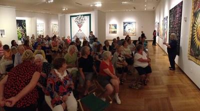 National Quilt Museum exhibit at the Cedarhurst Center