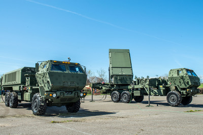 MEADS Multifunction Fire Control Radar Tracks Tactical Ballistic Missile for First Time. (PRNewsFoto/MEADS International) (PRNewsFoto/MEADS INTERNATIONAL)